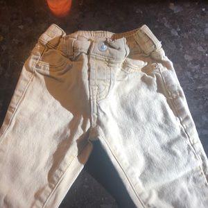 Boys tan jeans